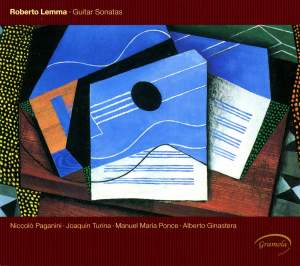 Paganini, Ponce, Ginastera, Turina: Guitar Sonatas