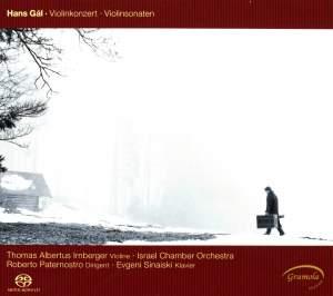 Hans Gál: Violin Concerto & Violin Sonatas Product Image