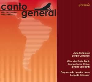 Theodorakis/Neruda: Canto General Product Image