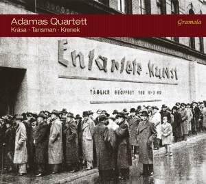 Krasa, Tansman & Krenek: Works for String Quartet