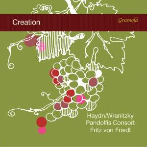 Haydn: The Creation, Hob. XXI:2 (Excerpts Arr. A. Wranitzky for Narrator & String Quintet) Product Image