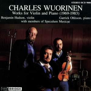 Wuorinen - Works for violin and piano