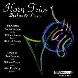 Horn Trios by Brahms and Ligeti