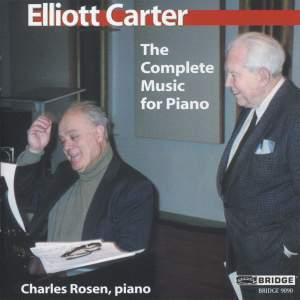 Music of Elliott Carter - Vol 3