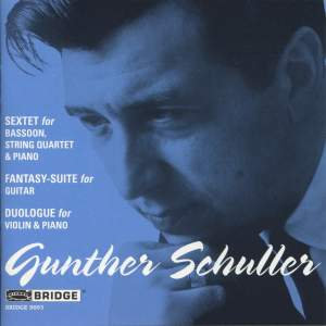 Gunther Schuller - Chamber Works