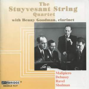 The Stuyvesant String Quartet with Benny Goodman