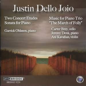 Dello Joio: Two Concert Etudes, Piano Trio & Piano Sonata