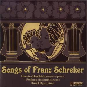 Franz Schreker - Songs