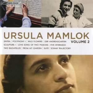 Music of Ursula Mamlok Volume 2