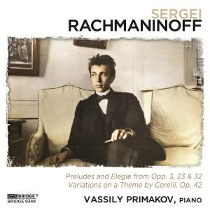 Vassily Primakov Rachmaninoff Recital