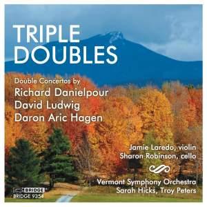 Triple Doubles: Double Concertos for violin, cello & orchestra