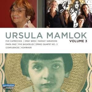 Music of Ursula Mamlok Volume 3