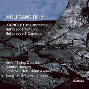Rihm - 'Concerto' Dithyrambe
