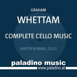 Whettam: Complete Cello Music Product Image