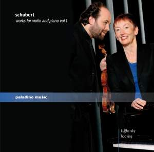 Schubert: Works for Violin and Piano, Vol. 1 Product Image
