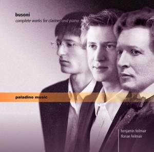 Busoni: Complete Works for Clarinet and Piano Product Image
