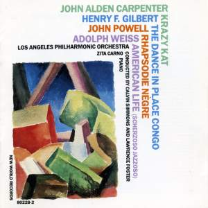 Carpenter, Gilbert, Powell & Weiss: Orchestral Works