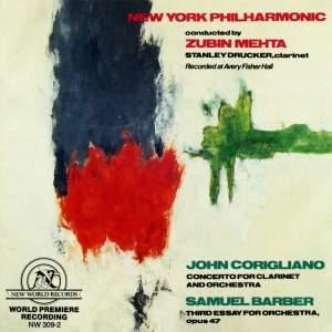 John Corigliano and Samuel Barber: Orchestral Works