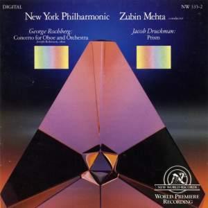 Druckman and Rochberg: Oboe Concertos
