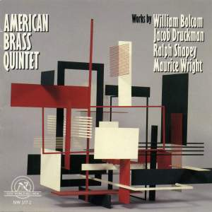 The American Brass Quintet play Bolcom, Druckman, Shapey and Wright