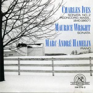 Ives & Maurice Wright: Piano Works
