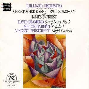 Persichetti, Diamond & Babbitt: Orchestral Works