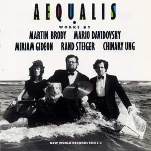 Aequalis plays Brody, Ung, Gideon & Davidovsky
