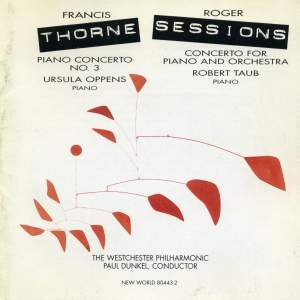 Roger Sessions & Francis Thorne - Piano Works