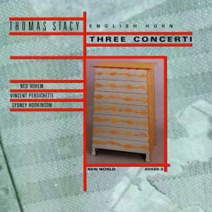 Three Concerti for Cor Anglais