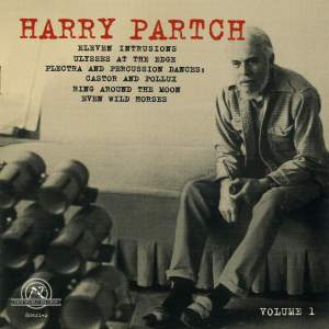 Harry Partch Volume 1
