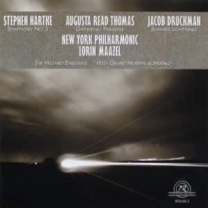Druckman, Hartke & Thomas: Orchestral Works