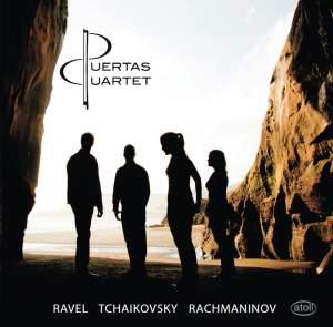 Ravel, Tchaikovsky & Rachmaninov: Works for String Quartet
