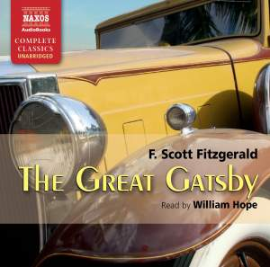 F. Scott Fitzgerald: The Great Gatsby Product Image