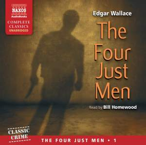 Edgar Wallace: The Four Just Men (unabridged) Product Image