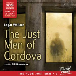 Edgar Wallace: The Just Men of Cordova (unabridged) Product Image