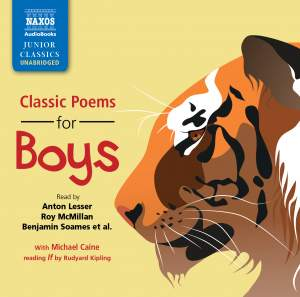 Classic Poems for Boys (unabridged) Product Image