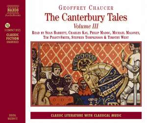 Geoffrey Chaucer: The Canterbury Tales Vol. III Product Image