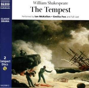 William Shakespeare: The Tempest (unabridged) Product Image
