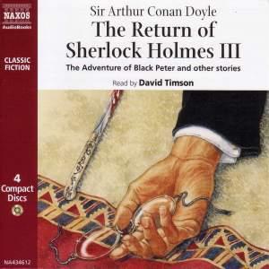 Sir Arthur Conan Doyle: The Return of Sherlock Holmes – Volume III Product Image