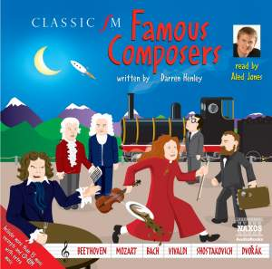 Darren Henley: Famous Composers (unabridged) Product Image