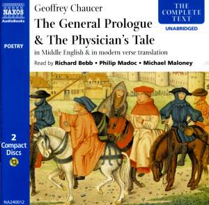 Geoffrey Chaucer - The Prologue & The Physician's Tale Product Image