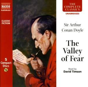 Sir Arthur Conan Doyle: The Valley of Fear (unabridged) Product Image