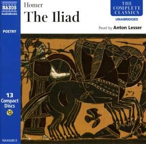 Homer: The Iliad (unabridged) Product Image