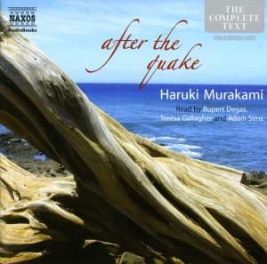 Haruki Murakami: after the quake (unabridged) Product Image