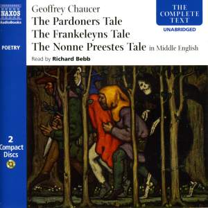Geoffrey Chaucer: Three Tales (unabridged, in Middle English) Product Image