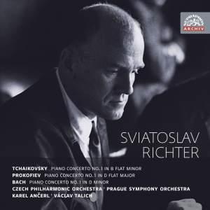 Sviatoslav Richter plays Tchaikovsky, Prokofiev & Bach