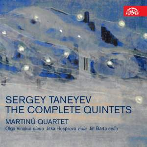 Taneyev: The Complete Quintets Product Image