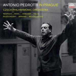 Antonio Pedrotti in Prague