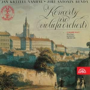 Vaňhal & Benda: Viola Concertos