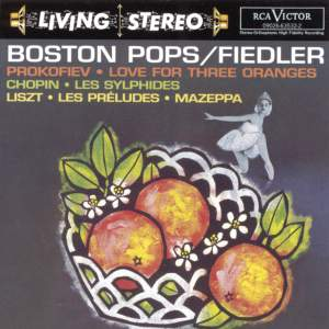 Prokofiev: Love for Three Oranges & Chopin: Les sylphides